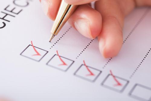 HDB House Cleaning Checklist