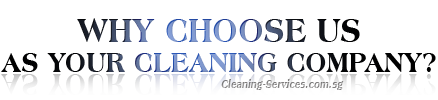 Why Choose Us As Your Cleaning Company?